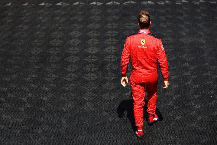 Kein vorzeitiger Abgang bei Ferrari: Sebastian Vettel