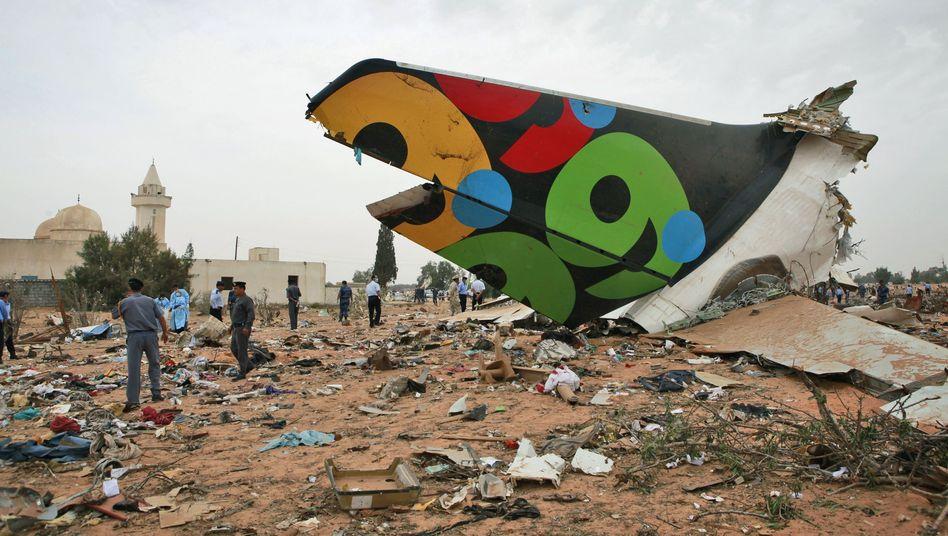 Libyen: Mehr als 100 Tote bei Flugzeugabsturz in Tripolis