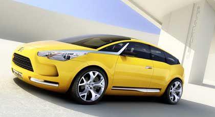Citroën-Studie C-SportLounge: Design mit dem Kantenschleifer