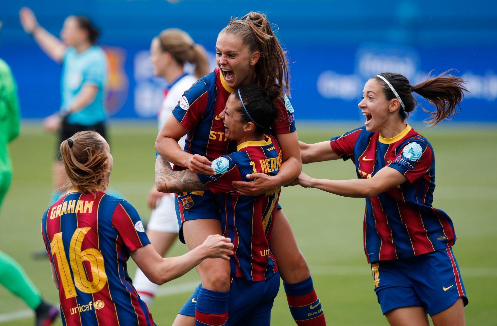 Women's Champions League - Semi Final Second Leg - FC Barcelona v Paris St Germain