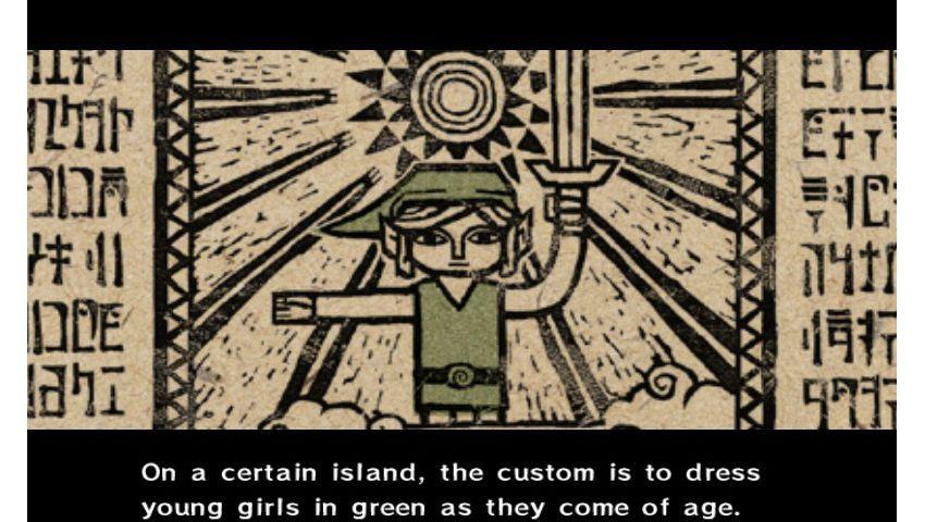 """Legend of Zelda - The Wind Waker"": Vater macht Link zum Mädchen"