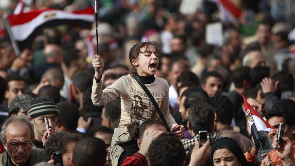 Alt und Jung gegen den Autokraten: Massenprotest am Freitag in Kairo