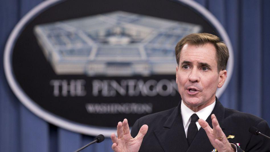 US-Außenamtssprecher Kirby: Deutliche Kritik an Moskau