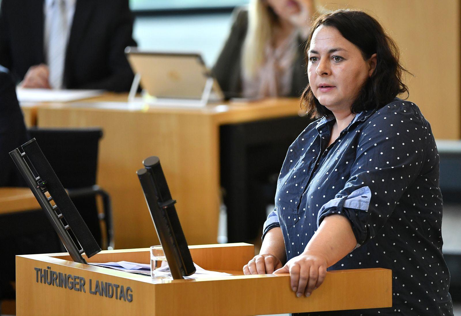 Katharina König-Preuss/ Sondersitzung des Thüringer Landtages