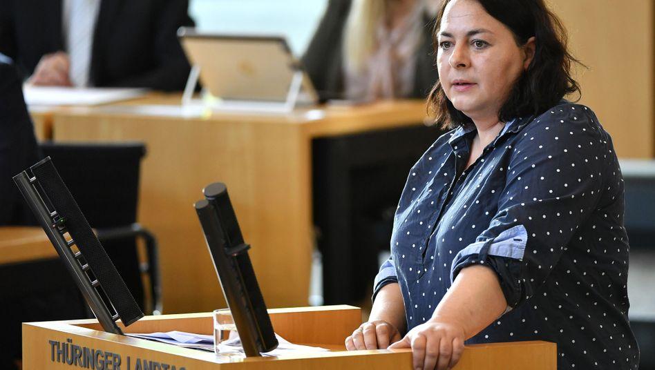 Katharina König-Preuss, Landtagsabgeordnete in Thüringen und Mitglied im NSU-Untersuchungsausschuss