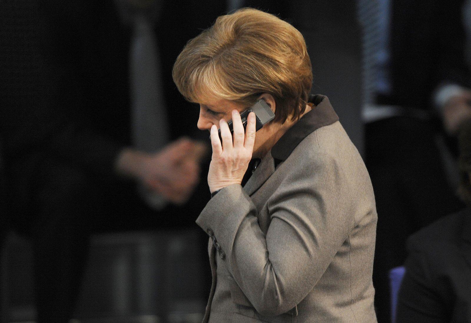 Merkel Handy