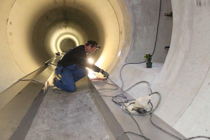 In der Kanalisation werden Wärmetauscher installiert