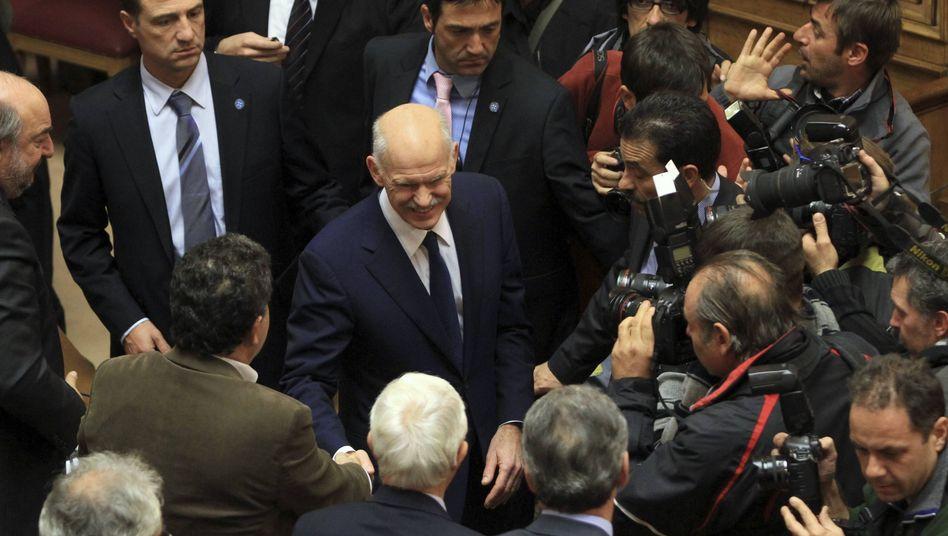 "Griechenlands Premier Papandreou: ""Wir werden kooperieren"""