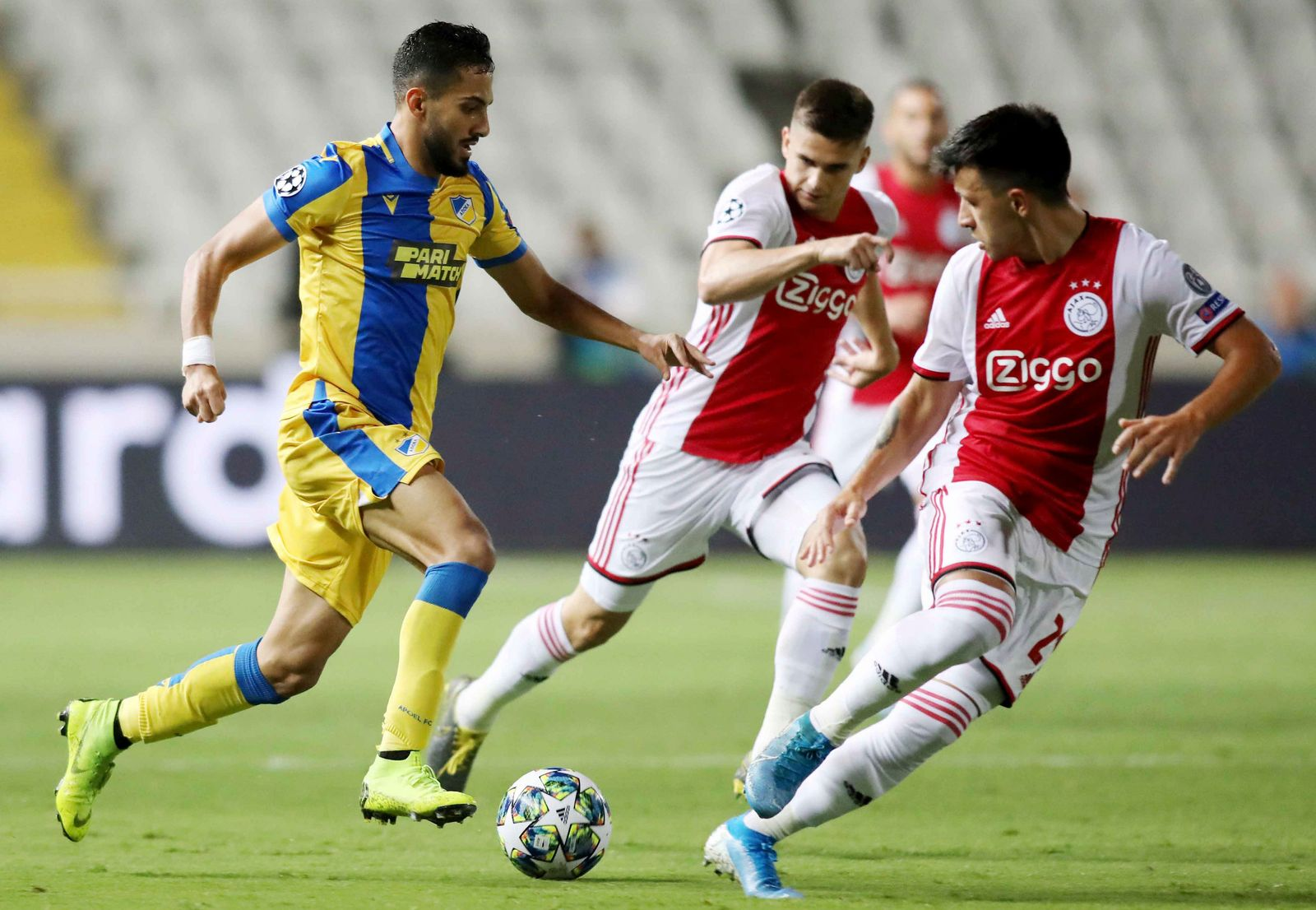 Apoel Ajax CL-Playoff