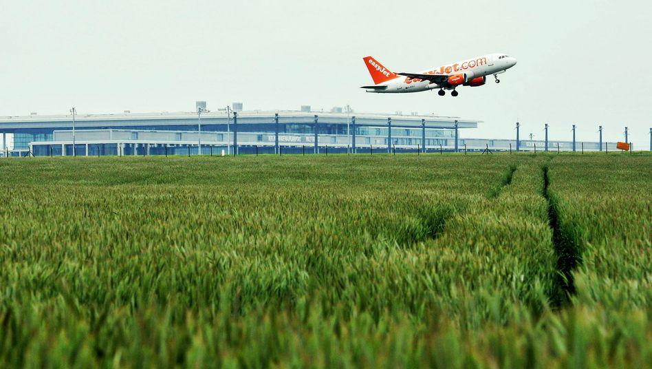 Terminal des neuen Hauptstadtflughafens: Vom Start weg zu klein