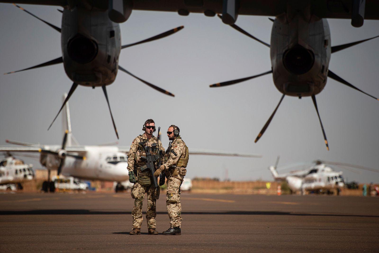 Deutsche Soldaten in Mali