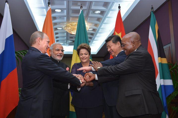 BRICS-Gruppe beim G20-Treffen 2014
