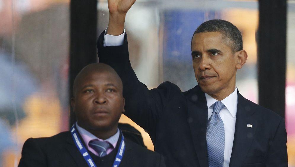 """Dolmetscher bei Mandela-Trauerfeier: """"Er hat einfach nur herumgestikuliert"""""""