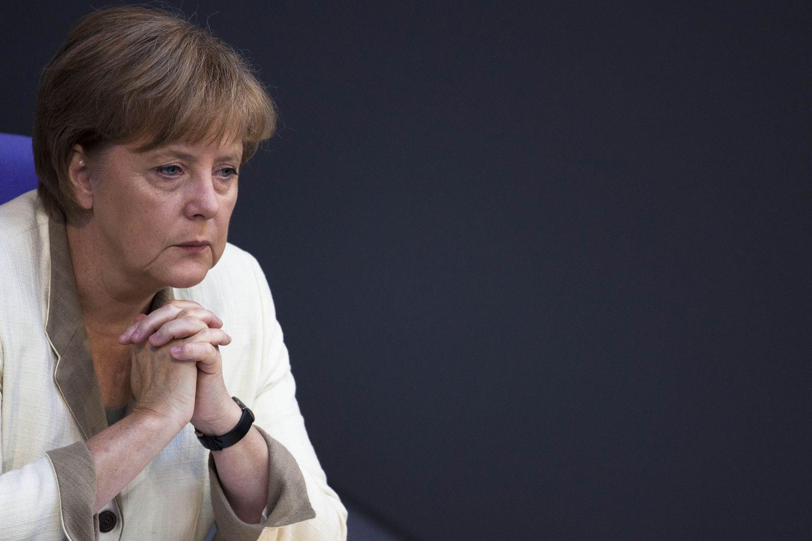 Angela Merkel/ Griechenland