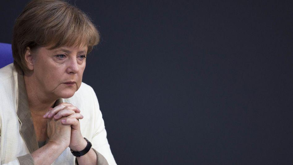 Merkel: Furcht vor Lehman II