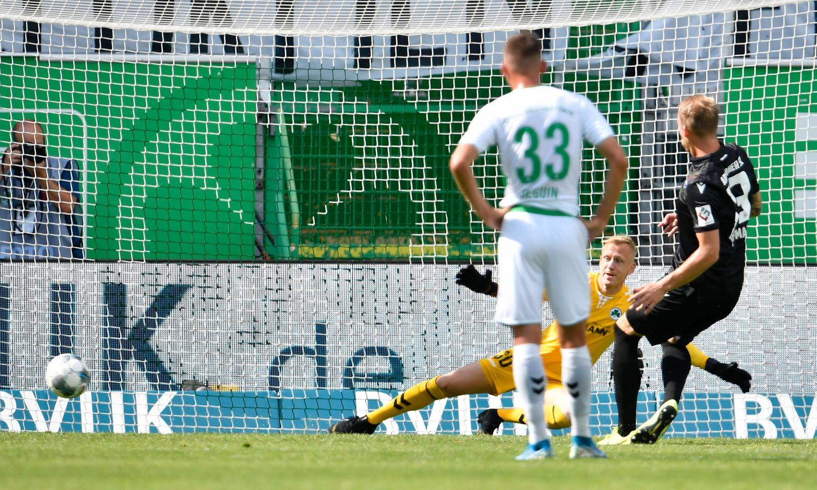 28.06.2020 - Fussball - Saison 2019 2020 - 2. Fussball - Bundesliga - 34. Spieltag: SpVgg Greuther Fürth ( Kleeblatt )