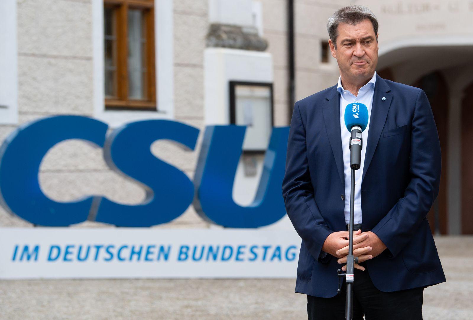 Sommerklausur der CSU-Landesgruppe im Bundestag