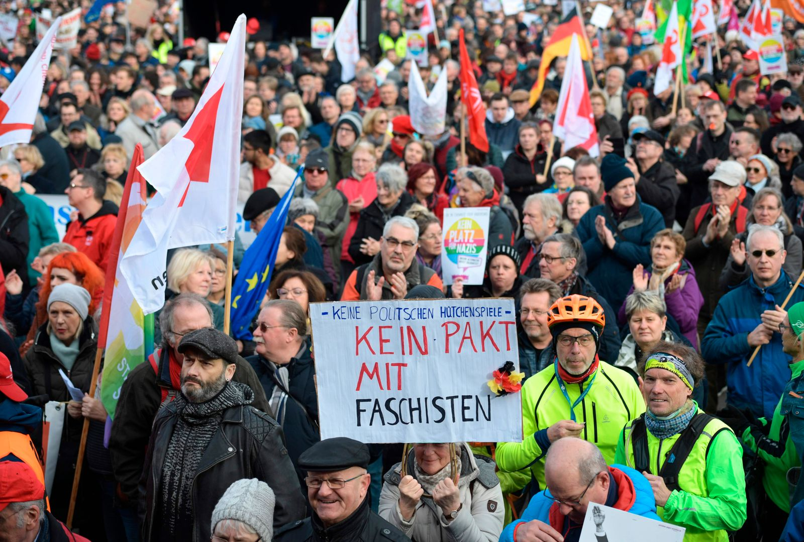 GERMANY-DEMONSTRATION-PARTIES-POLITICS-FARRIGHT