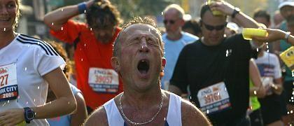 """Erschöpfte Läufer nach Marathon in New York: """"Tolle Zeit, du"""""""