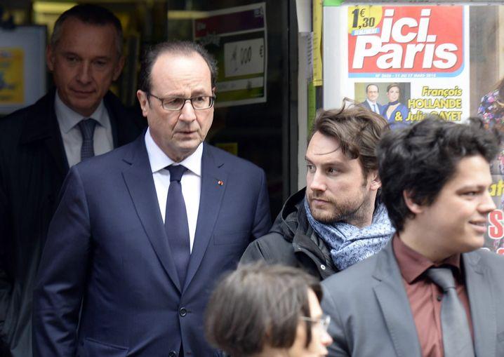 Der regierende Präsident François Hollande: Dem Debakel nichts entgegenzusetzen