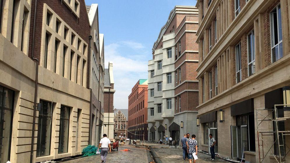 Klein-Hannover in China: Backsteinbauten in Fernost
