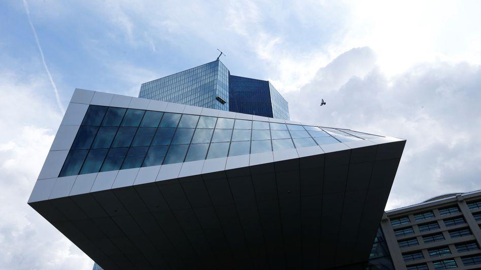 EZB-Zentrale in Frankfurt