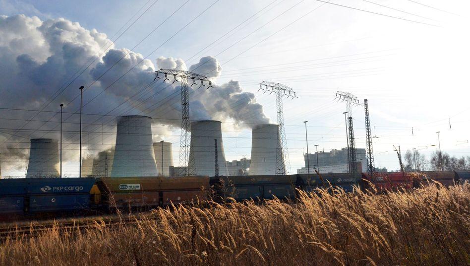 Vattenfall-Braunkohlekraftwerk in Brandenburg
