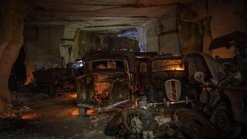 Oldtimerfund in verlassenem Stollen: Unterirdischer Zustand