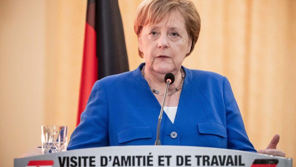 Angela Merkel in Niger