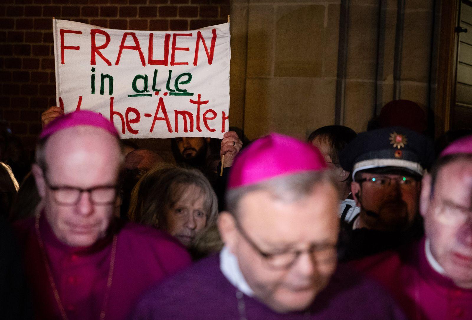 Frauen und Kirche - Kirchenstreik «Maria 2.0»