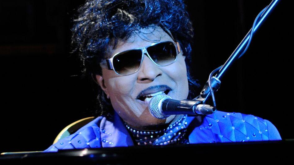 Little Richard bei einem Auftritt 2012 in New York