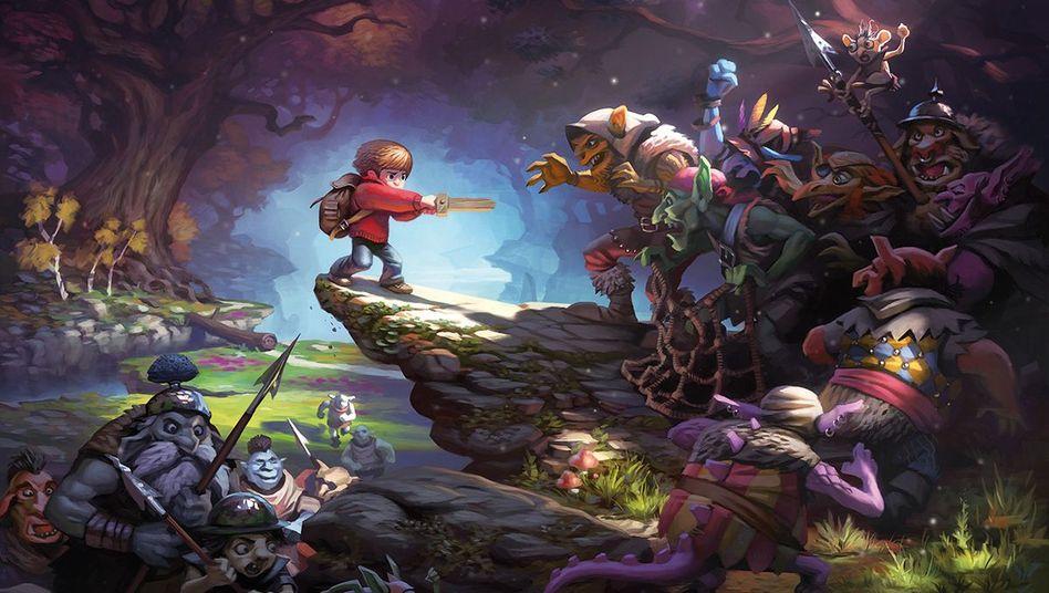 """Spielecomic """"Wormworld Saga"""": Scrollend wird der Leser in die Geschichte gezogen"""