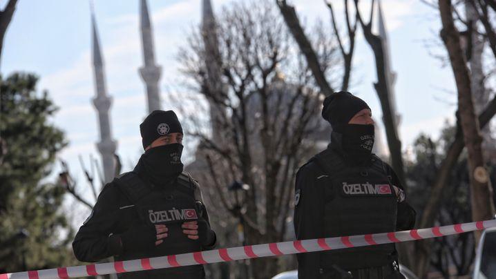Istanbul: Explosion in Sultanahmet