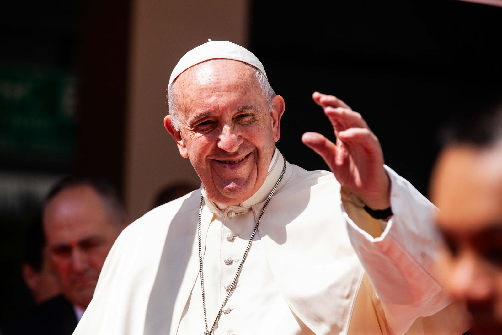 FILE: Pope Francis Calls For Civil Union Laws For Same-Sex Couples