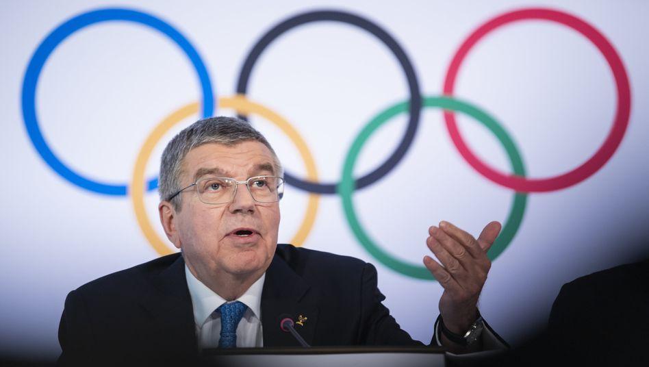 IOC-Präsident Thomas Bach (Archiv)