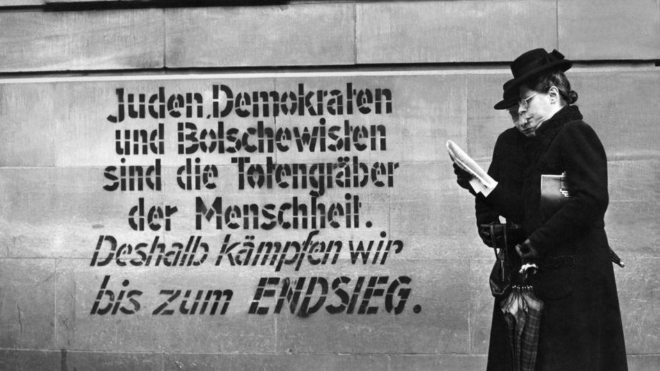 Nazi-Propaganda im Jahr 1944