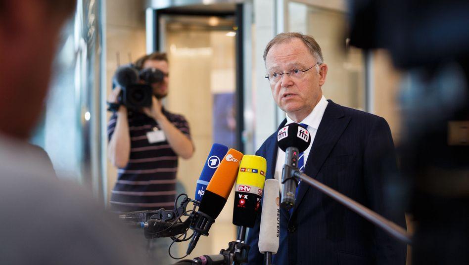 Der niedersächsische Ministerpräsident Stephan Weil (SPD)