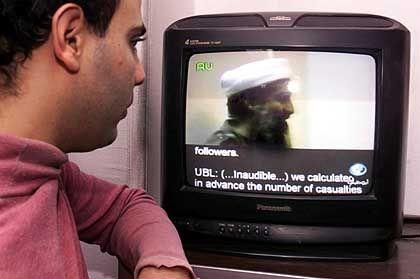 Bin Laden im Video, das vergangene Woche vom Pentagon veröffentlicht wurde