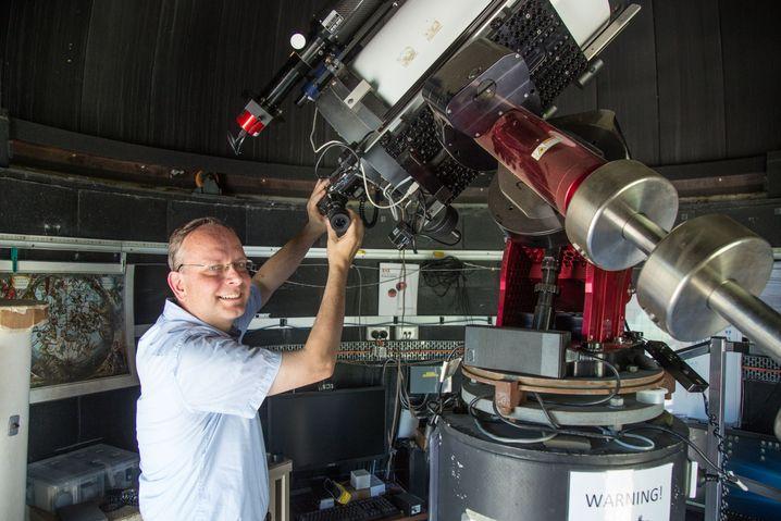 Forscher de Grijs: Suche nach der Form der Milchstraße