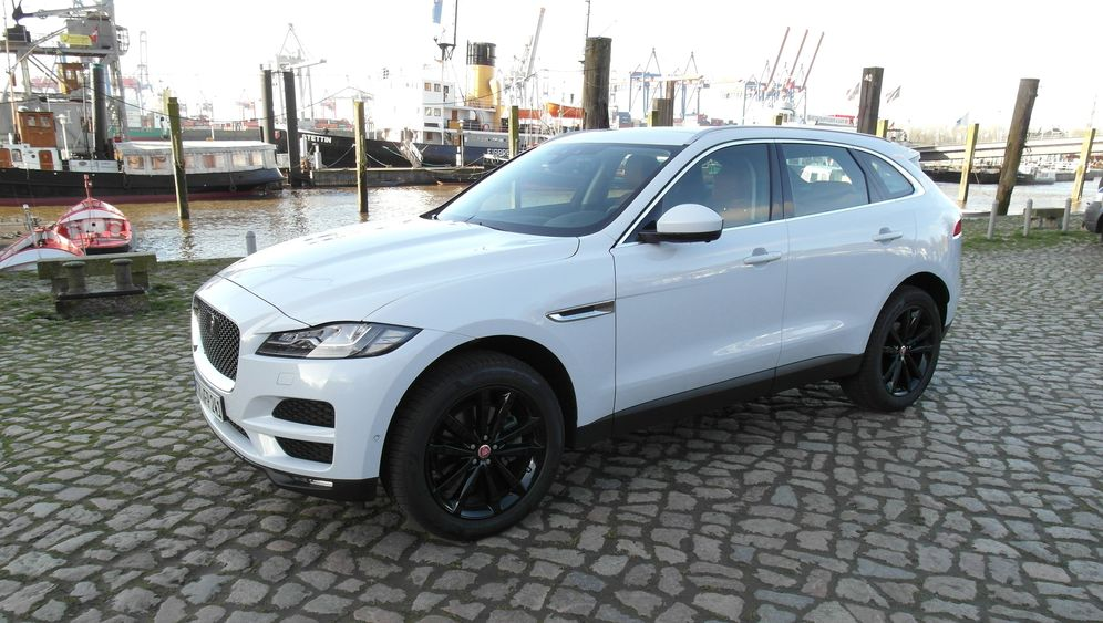 Fahrbericht Jaguar F-Pace: Gut zu fahren, schlecht zu bedienen