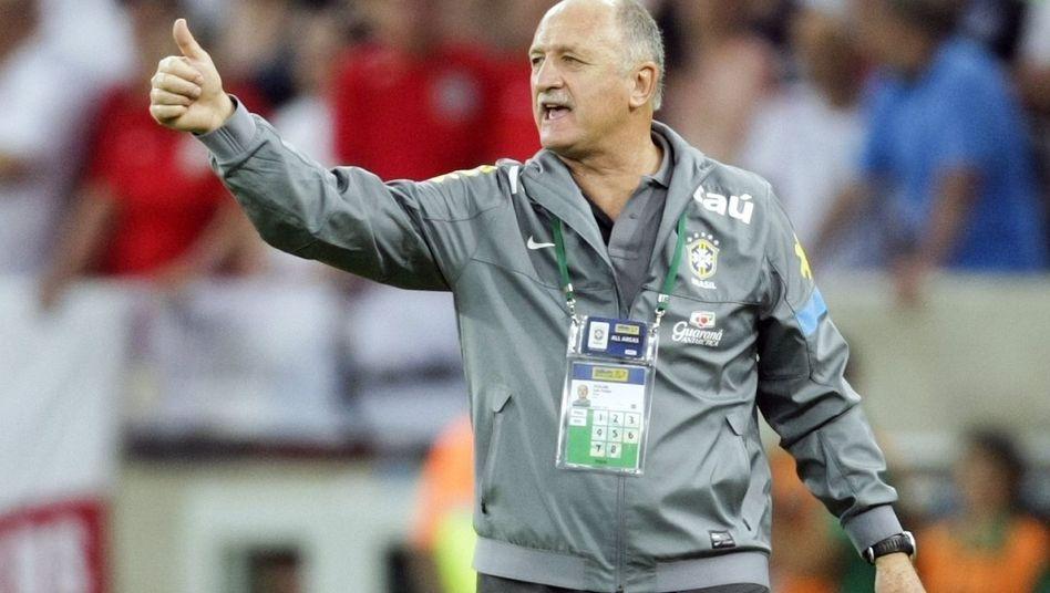 """Brasilien-Coach Scolari: """"Das kann man vergessen"""""""