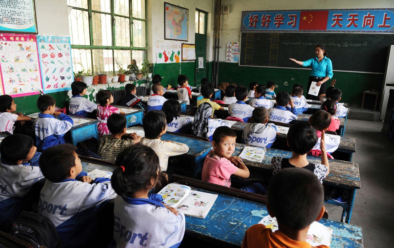 China / Schüler / Klasse