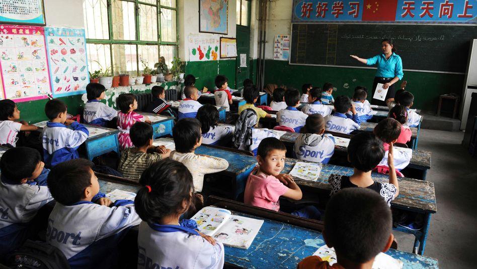 """Chinesische Schüler: """"Alles auf den Lehrer konzentriert"""""""