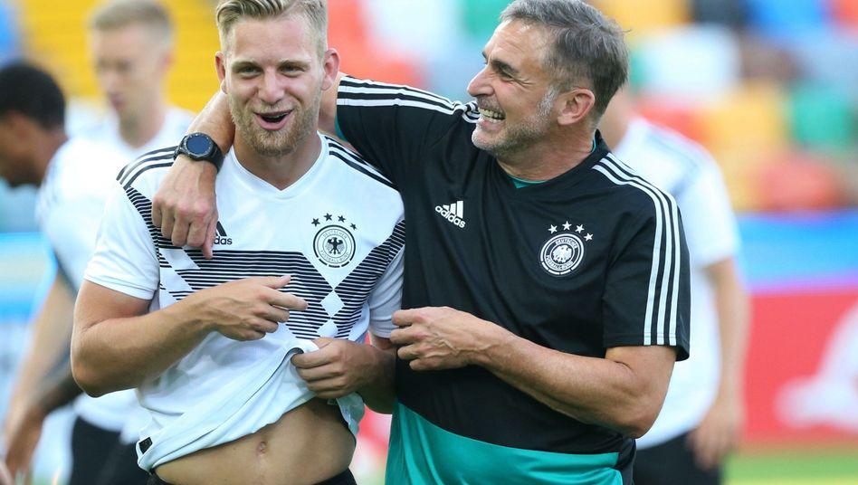 Stefan Kuntz (r.) und Arne Meier
