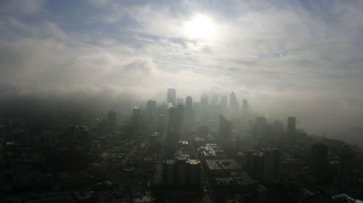 """Skyline von Seattle: """"Je näher man am Epizentrum ist, desto stärker Fallen die Erschütterungen aus."""""""