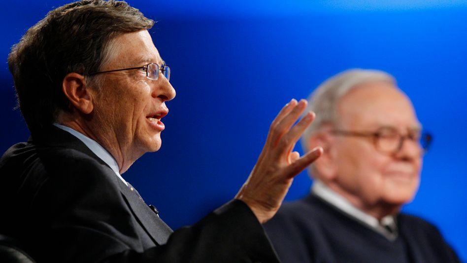 Buffett, Gates und Co.: Amerikas Superreiche starten Spendenrevolution