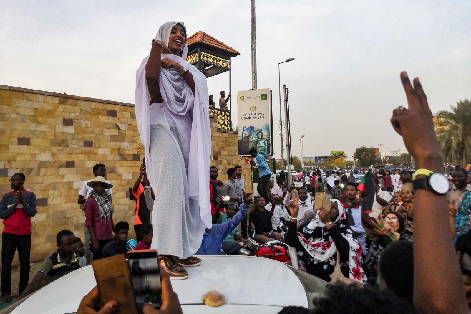 Sudan/ Proteste/ Alaa Salah