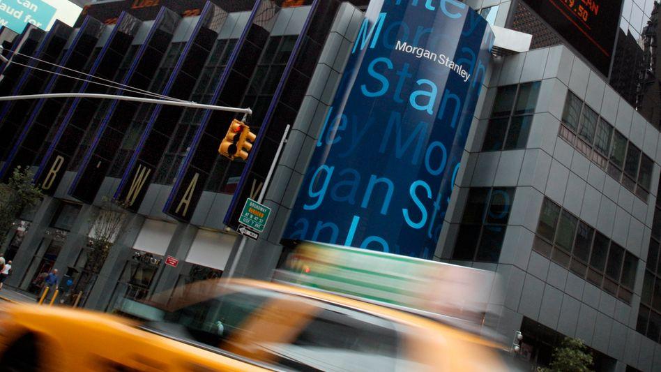 Zentrale von Morgan Stanley in Manhattan: Die Euro-Krise kommt