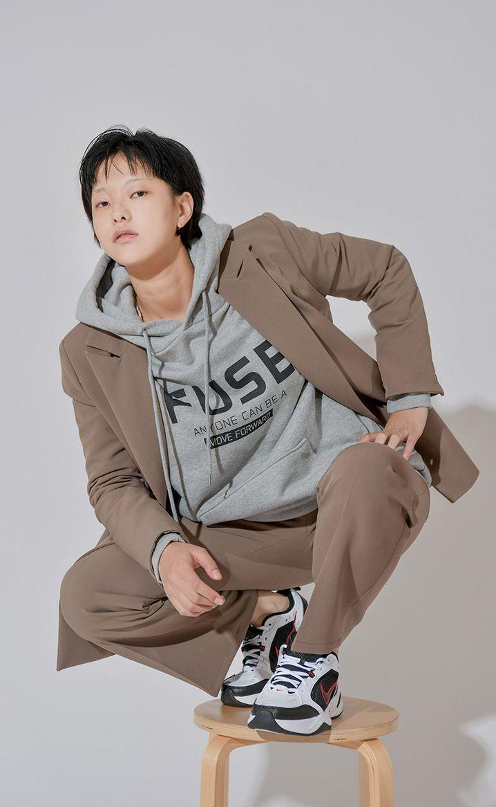 Ein Entwurf aus der Kollektion von Designerin Kim Su Jeong