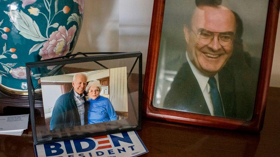 Biden ist in Scranton und seinem Geburtshaus allgegenwärtig: Er besuchte die Kearns, die nun dort leben, immer wieder